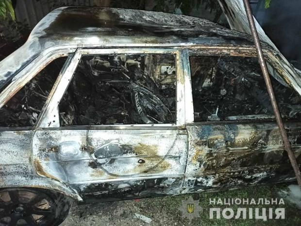 Через ревнощі 36-річний чоловік спалив  «Audi-80»