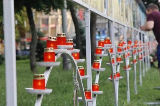 У Дніпрі вшанували пам'ять загиблих десантників