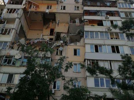 Збільшилася кількість жертв вибуху в київській багатоповерхівці