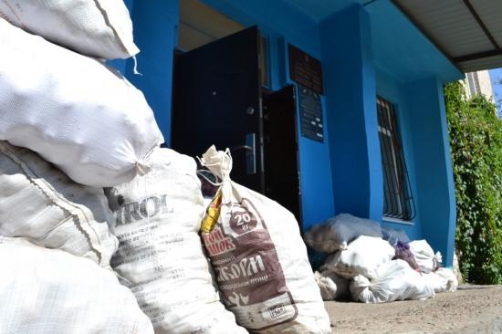 Удивительная Днепропетровщина: полуторатысячное село за сутки собрало для армии 3 тонны провизии