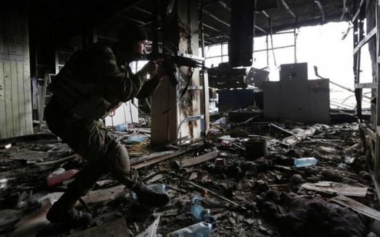 Российские власти запретили интервью о реальной ситуации в аэропорту Донецка. Полный текст беседы
