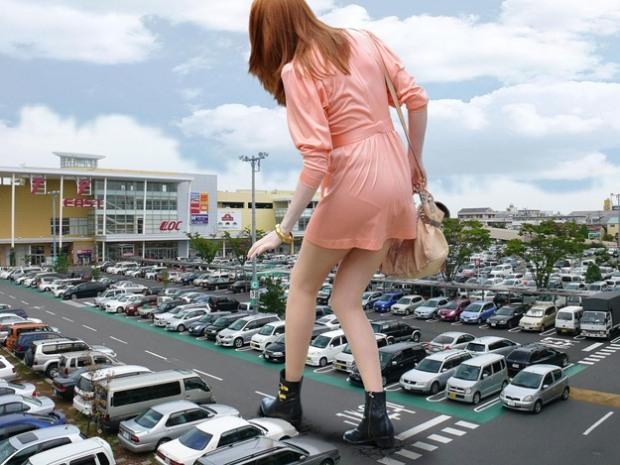 Незаконные парковки Днепропетровска: кто ответит за ущерб авто?