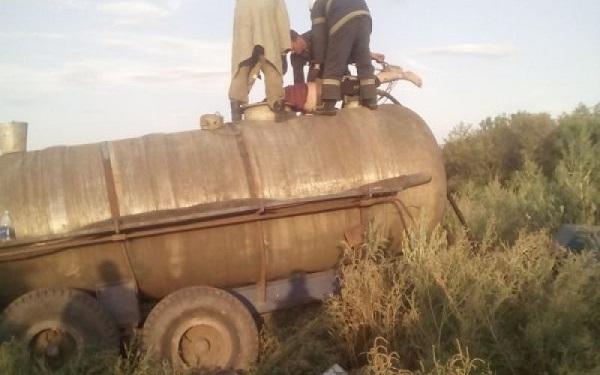 На Днепропетровщине фермер утонул в навозе