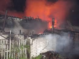 Начало осени в Каменском отметилось пожаром