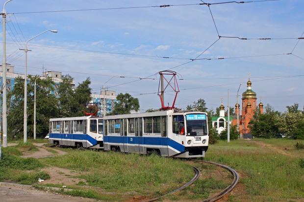 Сегодня вечером трамвай №19 приостановит своё движение