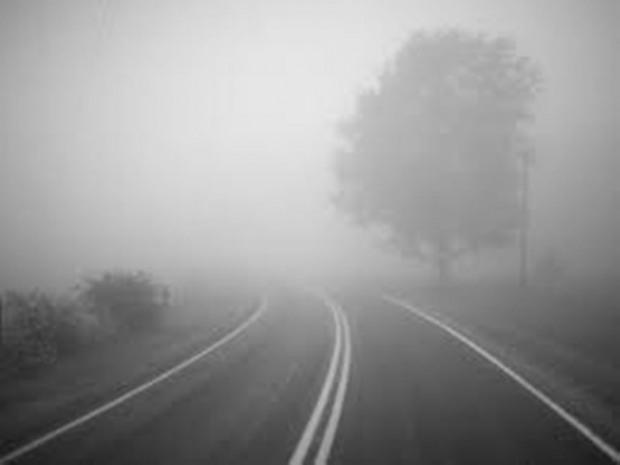 Водителей предупреждают о тумане на дорогах