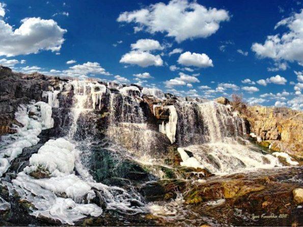 Экзотические водопады в Днепропетровской области: как добраться