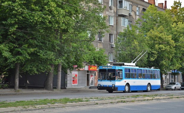 На выходных в Днепре два троллейбуса изменят свой маршрут