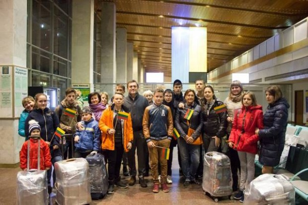 Детей АТОшников и переселенцев отправляют в Литву на обучение