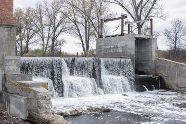 На реке Волчья строят первую в области мини-гидроэлектростанцию