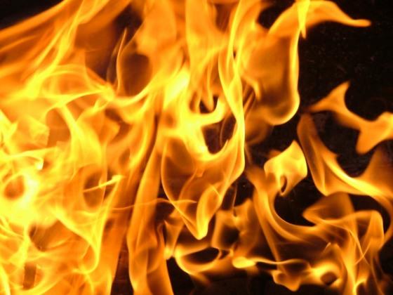 Сегодня ночью в парке им. Лазаря Глобы горела «Плотина»