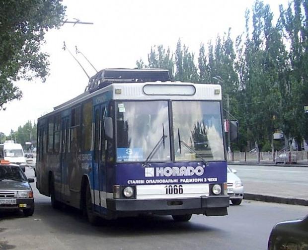 Днепропетровский надземный переход «сократит» троллейбусные маршруты