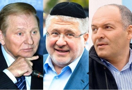 Луценко отправил дело на Пинчука, Коломойского и Кучму в антикоррупционное бюро