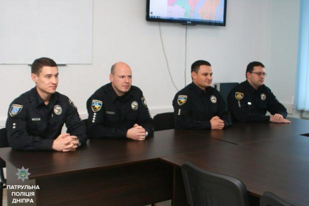 Кто возглавил патрульную полицию Днепра