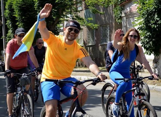 Стартує  велопробіг за ініціативи депутата Дніпропетровської обласної ради від ВО «Батьківщина» Володимира Хорішка