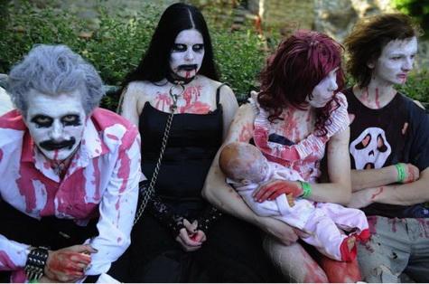 На улицы Днепропетровска выйдут зомби