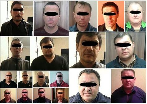 В ходе спецоперации в Днепропетровске задержаны воровские авторитеты
