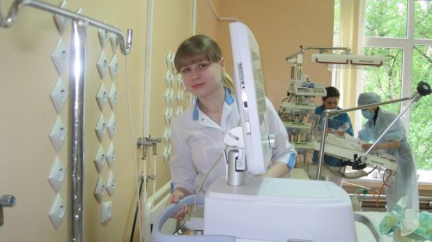 Лучшая медсестра области работает в Днепропетровске