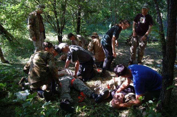 Днепровские правосеки провели курсы по тактической медицине