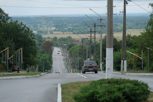 В Терновке отремонтировали дорогу