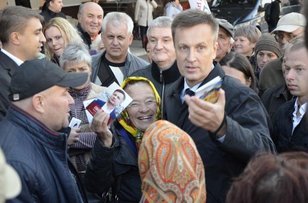 Лідер руху «Справедливість» Валентин Наливайченко відвідав Дніпропетровщину