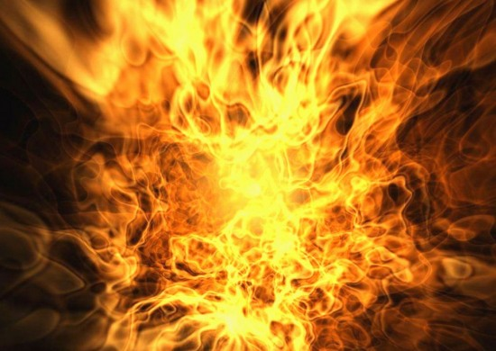 Павлоградская шахта Ахметова в огне