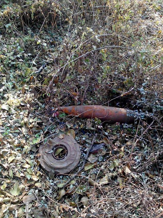 Житель Подгороднего «догулялся» до противотанковой мины