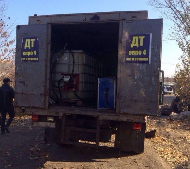 Криворожане залили нелегальные заправки «топливом», опасным для автомобилей