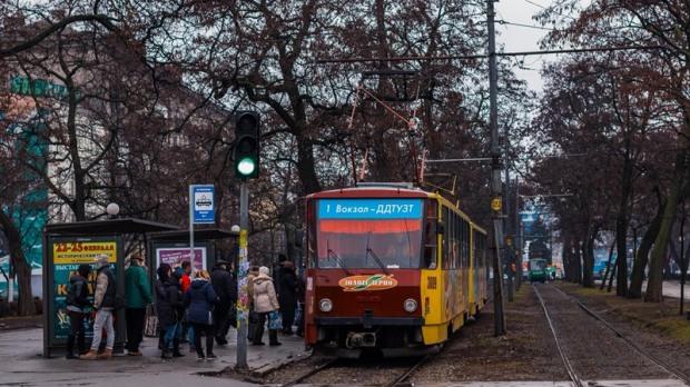 В Днепре приостановят работу трамвая №1