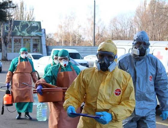 Женщину с подозрениями на вирус Эбола госпитализировали из аэропорта Днепропетровска в больницу