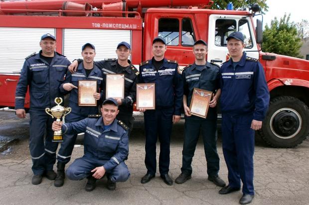 В Днепропетровской области определили лучшее звено ГСЧС