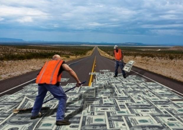 Фирма из Днепропетровщины «подлатает» дорогу на Харьковщине по цене под 2 тыс. грн. за квадрат