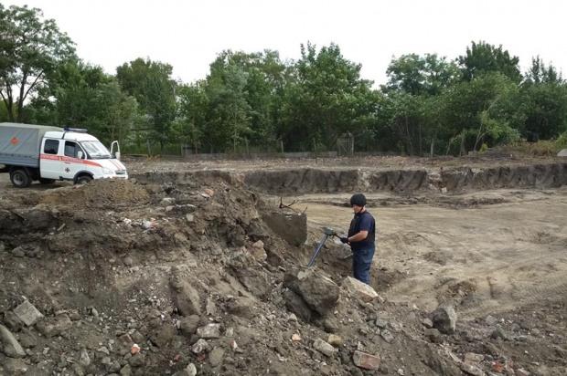 На Днепропетровщине сотрудники фирмы чуть не взлетели в воздух во время проведения земельных работ