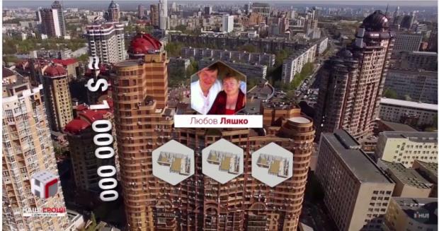Сколько земель и дорогостоящих квартир у семейства нардепа Олега Ляшко (ФОТО, ВИДЕО)