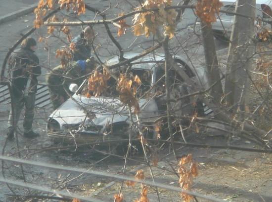 Сгоревший автомобиль «потянул» на уголовное дело