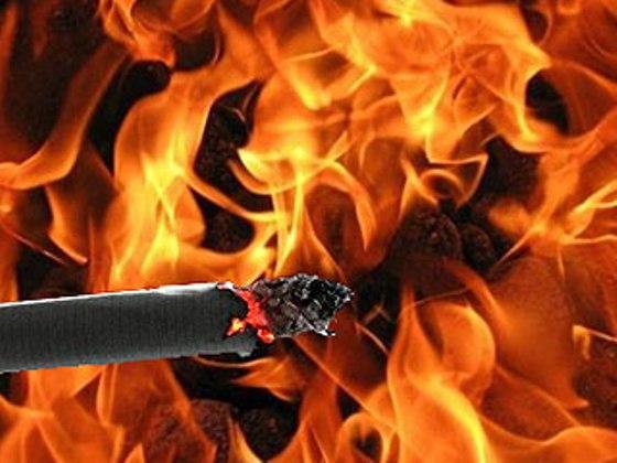 Пожары на Днепропетровщине провоцируют малолетние и балконные курящие