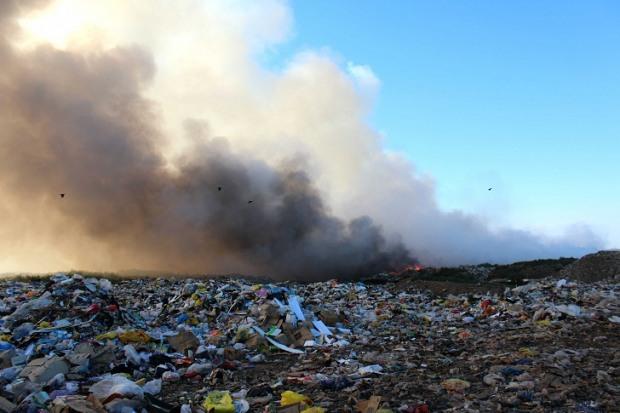 На днепровский полигон  завозят львовский мусор