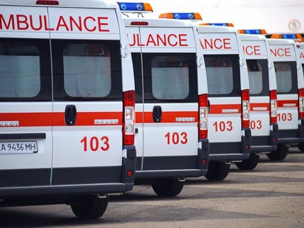 В Днепре появились новые машины скорой помощи