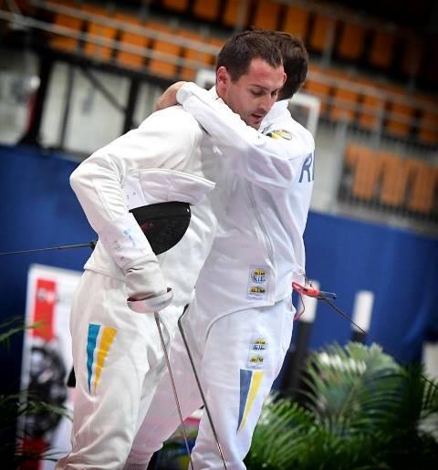Днепровский фехтовальщик победил чемпионов четырех стран