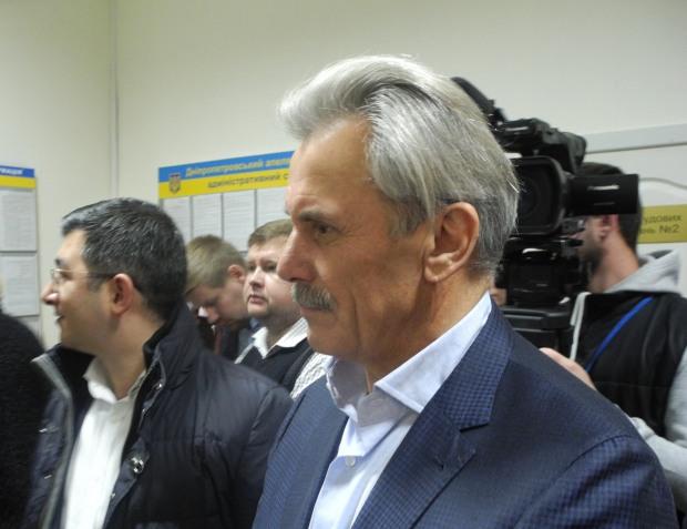 Володимир Хорішко —   голова Зайцівської об'єднаної територіальної громади у  Синельниківському районі