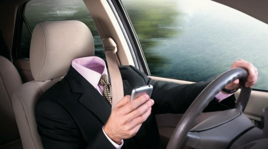 ГАИ объявляет борьбу с водителями, разговаривающими по телефону