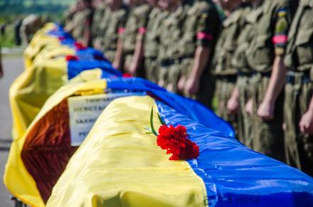 На Краснопольском кладбище попрощаются с еще 9 неизвестными солдатами