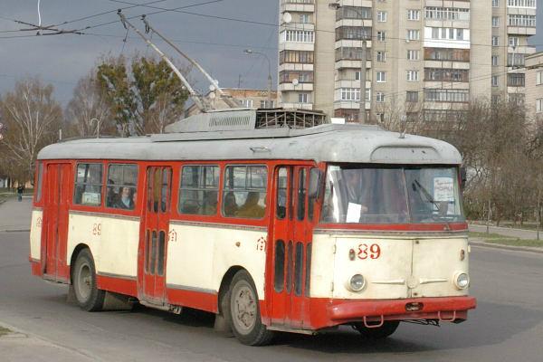Днепропетровцы остались без двух троллейбусных маршрутов