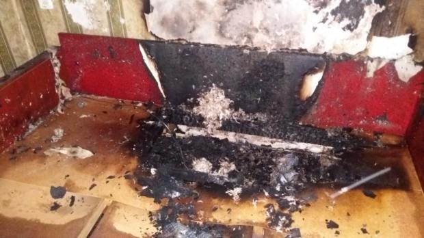 В результате пожара в квартире погиб ее владелец