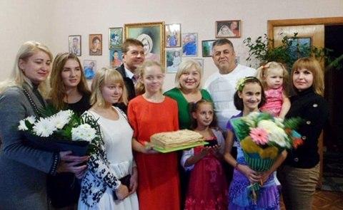 День народження жовтоводського Дитячого будинку сімейного типу родини Чуб