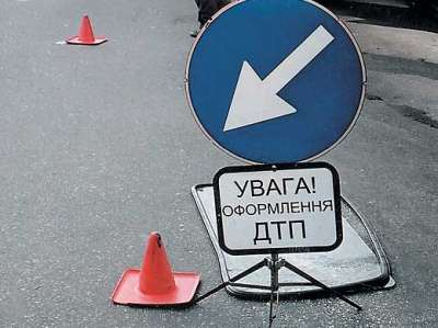 В Днепропетровске из-за горящих торфянников в ДТП попали 18 автомобилей