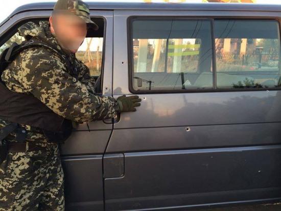 Волонтеры из Днепропетровка попали под минометный обстрел