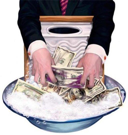 Днепропетровщина участвовала в отмывании полмиллиарда гривен ежемесячно