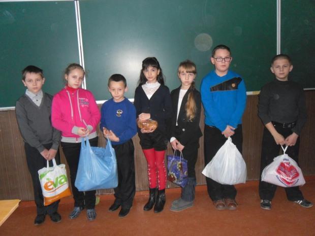 Криворожские школьники позаботились о пленных украинских военных