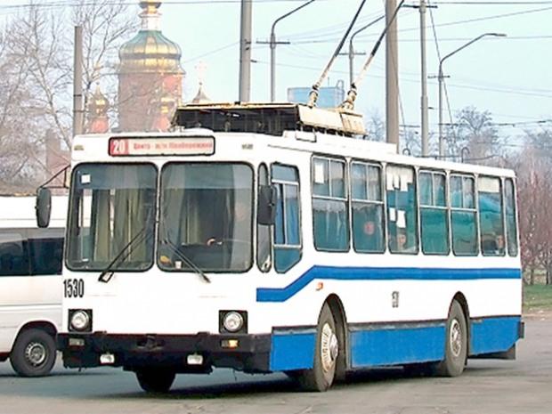 О работе троллейбусов 10 декабря сообщили в Днепропетровском  горсовете